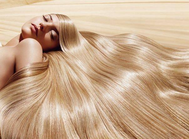 Фото блондинка с длинными волосами