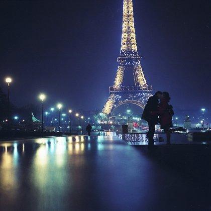 Фото цветов в париже
