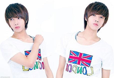 Фото Кореец в футболке с нарисованным британским флагом и надписью London / Лондон (© Юки-тян), добавлено: 05.11.2011 16:12