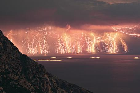 Фото Гроза на море (© Флориссия), добавлено: 10.11.2011 16:27