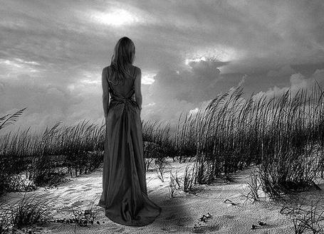 Фото Одинокая девушка в поле (© Флориссия), добавлено: 12.11.2011 20:53