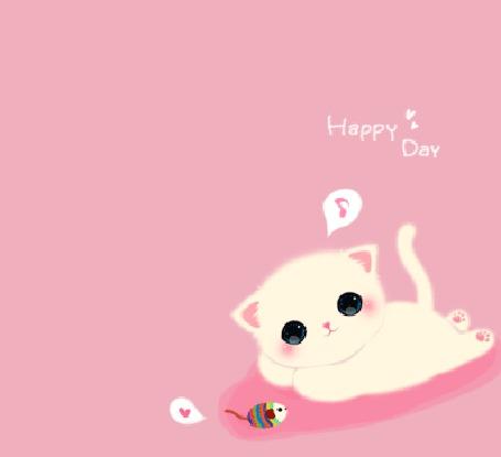 Фото Котёнок играет с мышкой (Happy Day) (© Anatol), добавлено: 23.11.2011 17:58