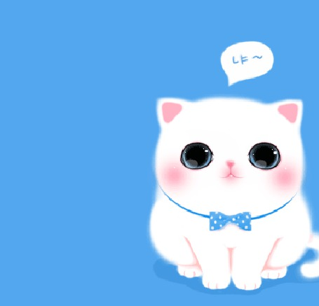 Фото Котёнок мяучит и помахивает хвостиком (© Anatol), добавлено: 23.11.2011 18:17
