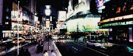 Фото Урбанистический пейзаж, город живёт своей ночной жизнью (© Anatol), добавлено: 29.11.2011 18:27
