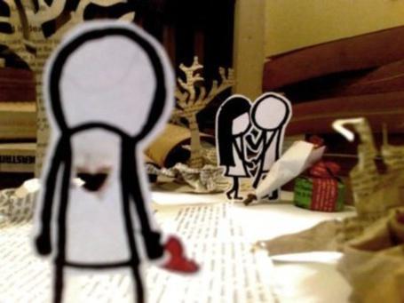 Фото Бумажные фигурки (© Mary), добавлено: 29.11.2011 18:59
