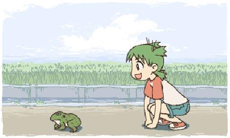 Фото Кто быстрее, мальчик соревнуется с лягушкой (© Anatol), добавлено: 30.11.2011 18:30
