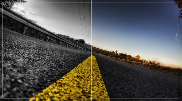 Фото Дорога под разным взглядом