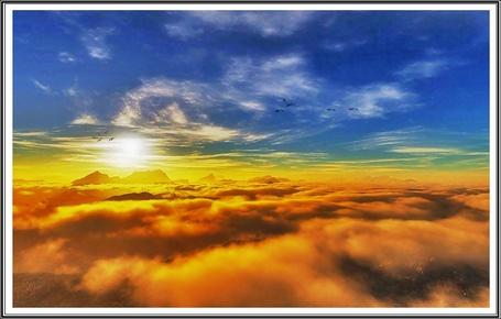 Фото Выше облаков (© Флориссия), добавлено: 01.12.2011 14:30