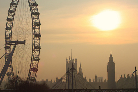 Фото Колесо обозрения в Лондоне (© StepUp), добавлено: 02.12.2011 11:05