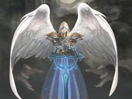 Фото Ангел из игры Герои меча и магии (© Яра), добавлено: 04.12.2011 12:48