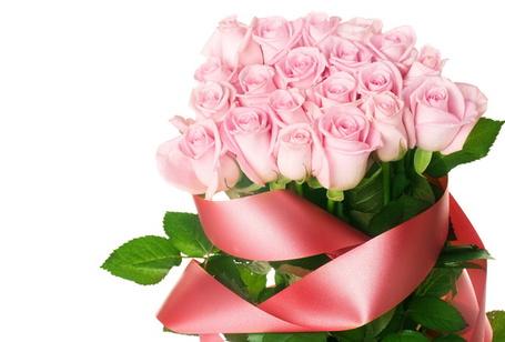 Фото Букет роз с ленточкой (© StepUp), добавлено: 04.12.2011 20:27
