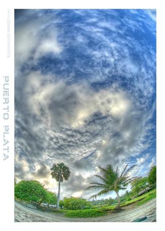 Фото Деревья на фоне облачного неба (© Флориссия), добавлено: 05.12.2011 14:32