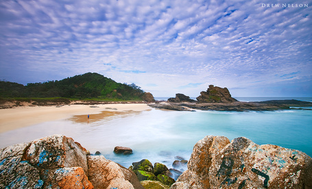 Фото Красивые берега океана (автор Drew Nelson) (© Штушка), добавлено: 06.12.2011 21:56