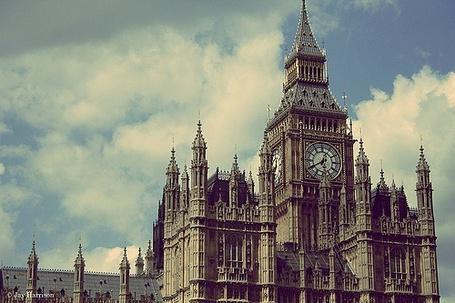Фото Часовая башня в Лондоне - Биг-Бен / Big-Ben