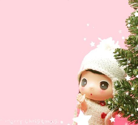 Фото Малыш наряжает ёлку (Marry Christmas!)