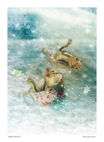 Фото Путешествие двух белочек в посуде по волнам (Foxfires) (© Radieschen), добавлено: 12.12.2011 14:34