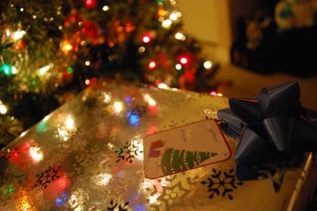 Фото Подарок под ёлкой (© Штушка), добавлено: 18.12.2011 22:05