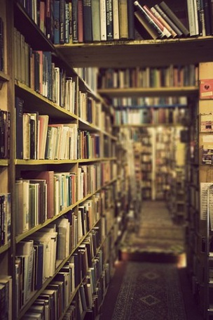Фото Книги в библиотеке (© Капитошка), добавлено: 26.12.2011 13:45