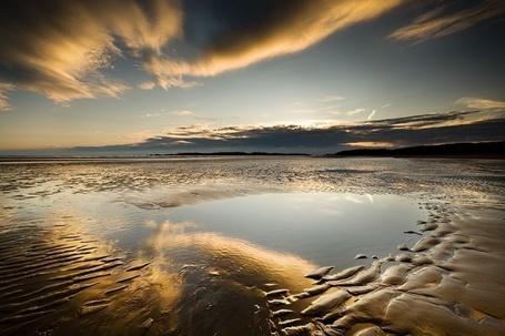 Фото Размытый берег после прилива (Glyn Davies) (© Radieschen), добавлено: 10.01.2012 07:20