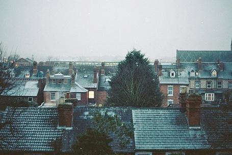 Фото Крыши домов города (© lemon), добавлено: 10.01.2012 22:18