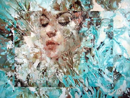 Фото Портрет девушки в разных тонах (© Julia_57), добавлено: 13.01.2012 19:27