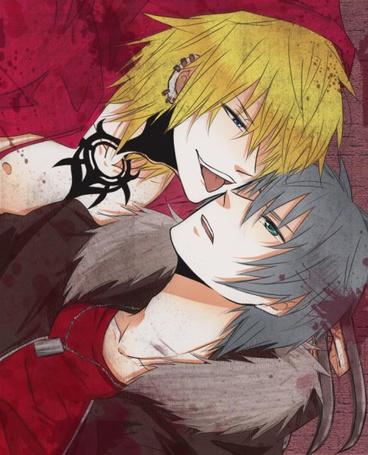 Фото Гундзи и Акира из аниме 'Kровь виновной собаки' (© Lvike), добавлено: 13.01.2012 23:00