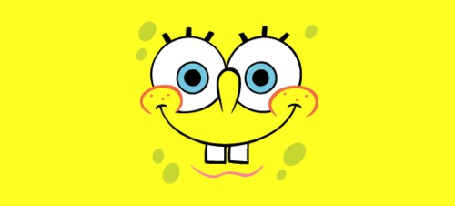 Фото Губка Боб Квадратные Штаны / SpongeBob SquarePants корчит разные рожицы