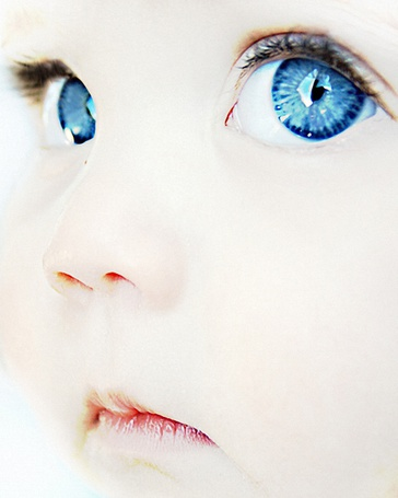 Фото Голубоглазый малыш