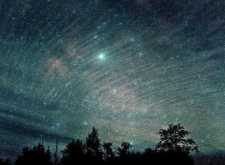 Фото Млечный путь над лесом (© Штушка), добавлено: 20.01.2012 21:46