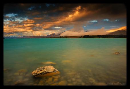 Фото ' Мутное озеро' Работы фотографа Anthony который из Окленда, Новая Зеландия