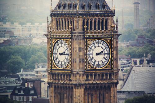 Фото Часы Биг-Бен / Big Ben Tower в Лондоне / London, Англия / England