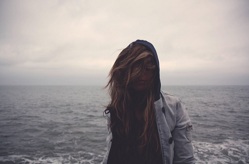Фото Девушка на фоне моря