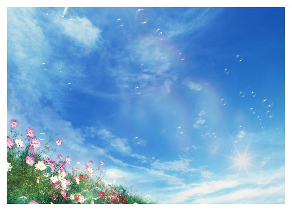 цветы летают фото