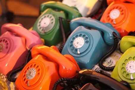 Фото Разноцветные телефоны (© lemon), добавлено: 05.02.2012 19:43