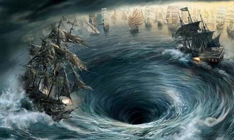 Фото Посреди океана образовалась воронка, затягивающая корабли (© Яра), добавлено: 11.02.2012 18:52