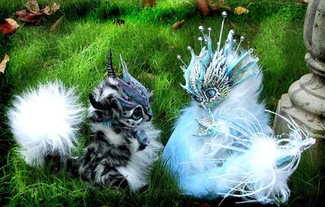 Фото Игрушки, милые дракончики на травке (© Штушка), добавлено: 16.02.2012 15:31