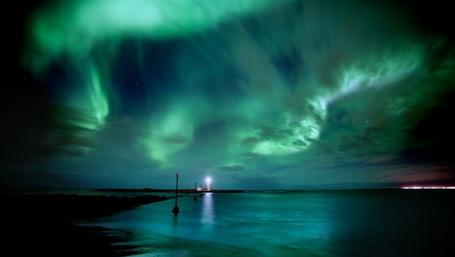 Фото Северное сияние (© Anatol), добавлено: 19.02.2012 19:31