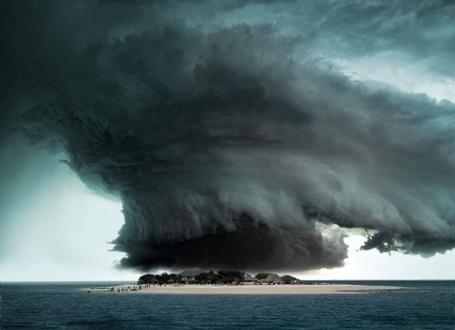 Фото Ураган на острове