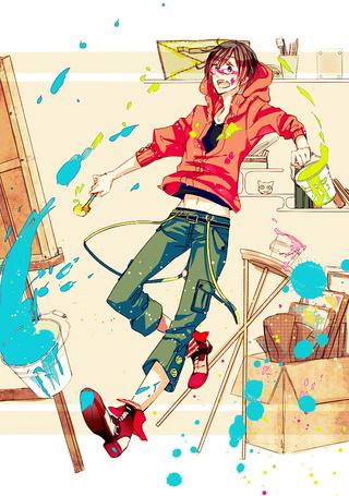 Фото Парень уронил ведра с красками (© Krista Zarubin), добавлено: 29.02.2012 12:13