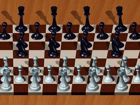 Фото Шахматы (объёмное изображение) (© Флориссия), добавлено: 29.02.2012 12:44