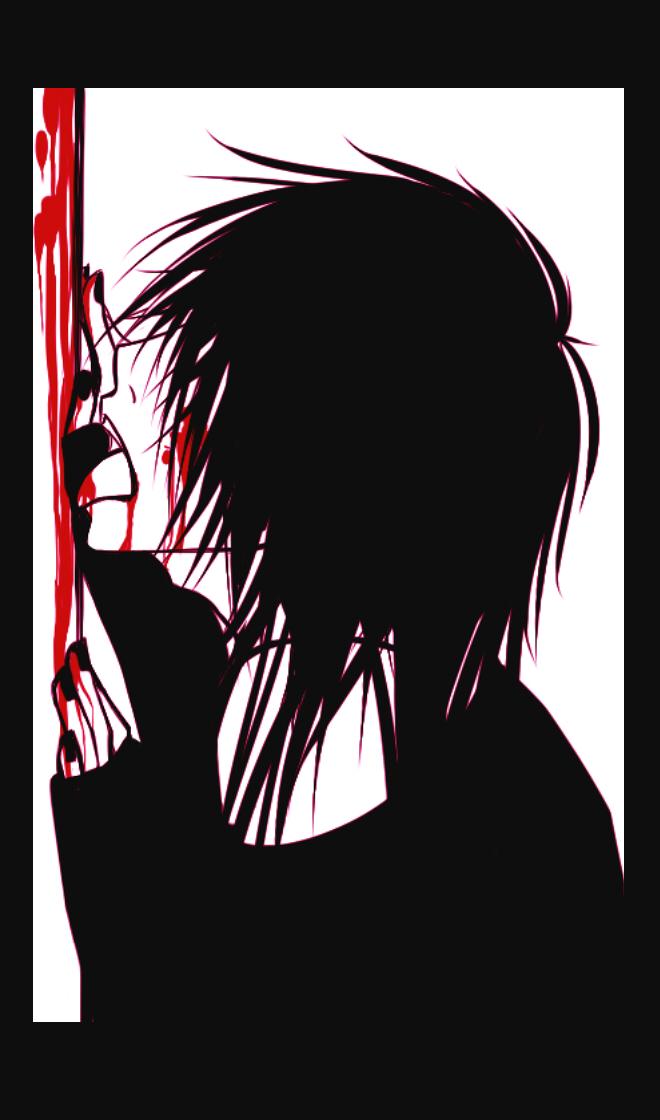 Девочка аниме с наушниками