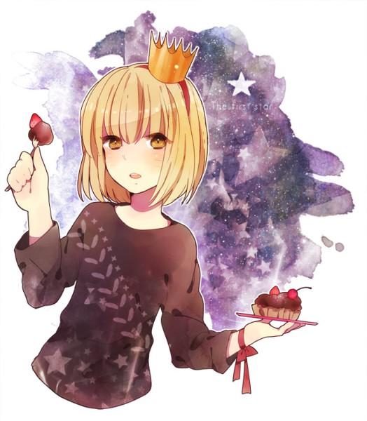 аниме девушки с короной: