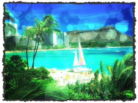 Фото Майями, вид на пляжный город (© Флориссия), добавлено: 09.03.2012 14:57