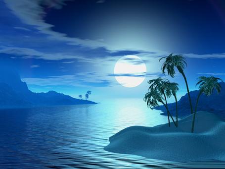Фото Острова в море (© Флориссия), добавлено: 09.03.2012 18:37