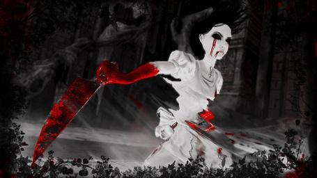 Фото Фото Alice: Madness Returns (рус. Алиса: Безумие Возвращается).Алиса в режиме истерики (© OvManiac), добавлено: 10.03.2012 18:17