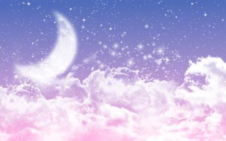 Фото Луна в небе (© Штушка), добавлено: 16.03.2012 22:37