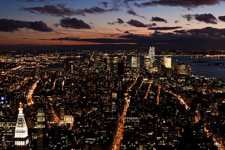 Фото Вечерний Нью-Йорк / New York