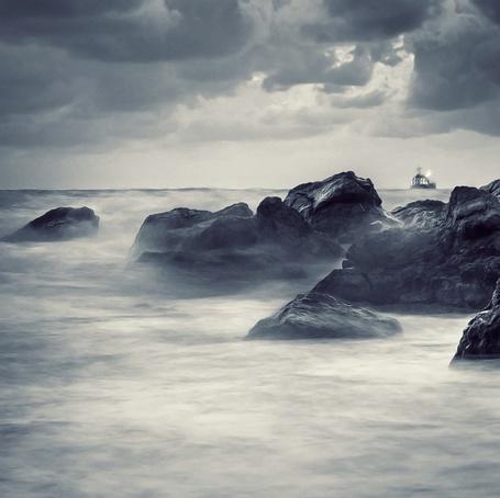 Фото Море в тумане, фотограф - Nick Lisitsin (© Malenkoe 4ydo), добавлено: 21.03.2012 08:12