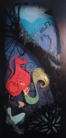 Фото Русалочка (англ. The Little Mermaid). Русалочка тонет