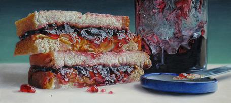 Фото Хлеб намазанный джемом, художница Painter Mary Ellen Johnson (© Radieschen), добавлено: 28.03.2012 08:30